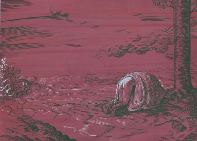 """Aleksandra Waliszewska, """"Bez tytułu"""", 2011, gwasz"""
