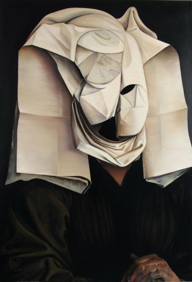 After Rogier van der Weyden, oil on canvas, 140 x 95 cm, 2012