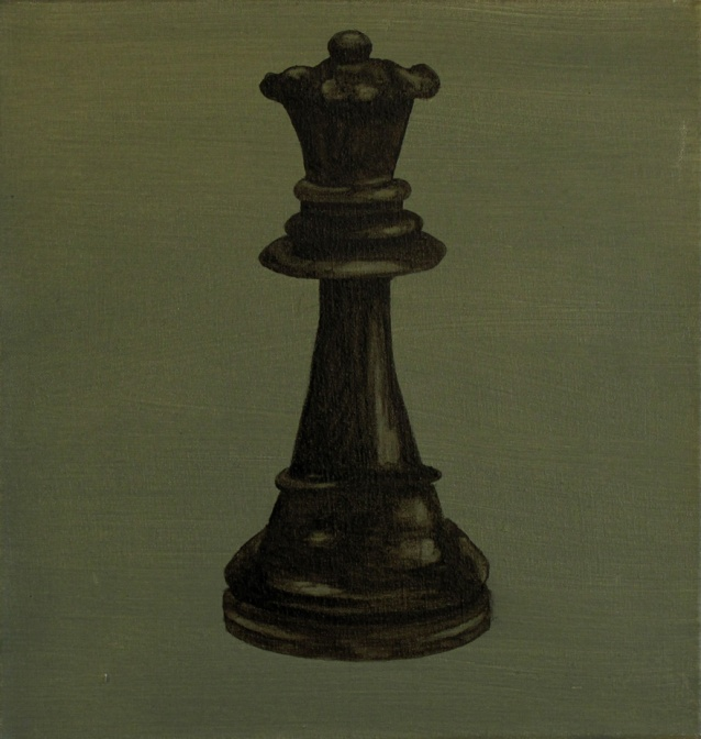 Title:Queen/Size:27x26cm/Material:oil on canvas/Year:2012