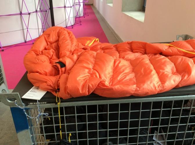 must have,  ポーランドのアウトドアメーカーpajakの寝袋。とにかく軽い!