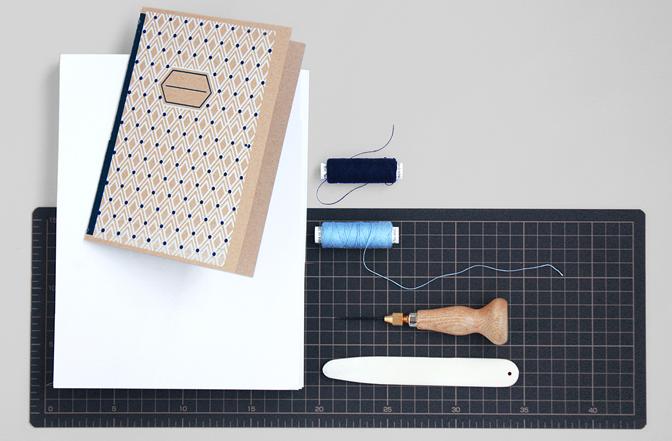 糸かがり綴じに必要な道具© Papierówka