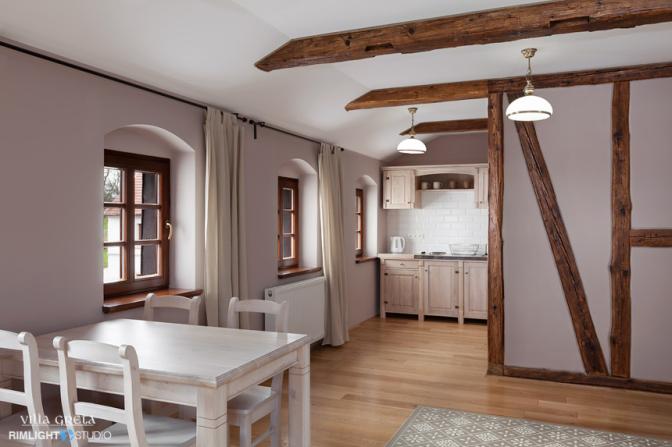 ポーランドの休暇では1週間以上アパートメントタイプのお部屋で滞在するファミリーも多いです