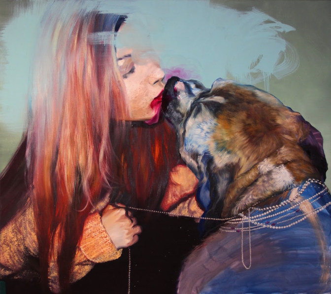 RICH BITCH / oil on canvas / 160 x 180cm / 2013