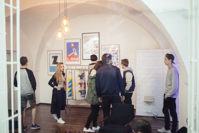 LUBLOV店内の様子。photo by Maciek Rukasz