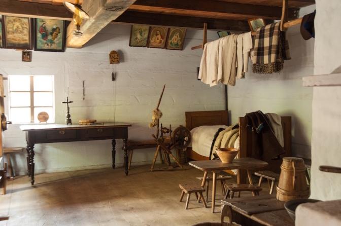 農村エリアでの住宅内。