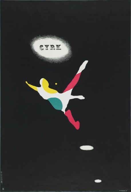 サーカス(ジャンパー) / ポスター / 1963年 / ポズナン国立美術館蔵