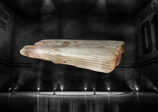 "Florian Auer, ""Wood"", 2017"