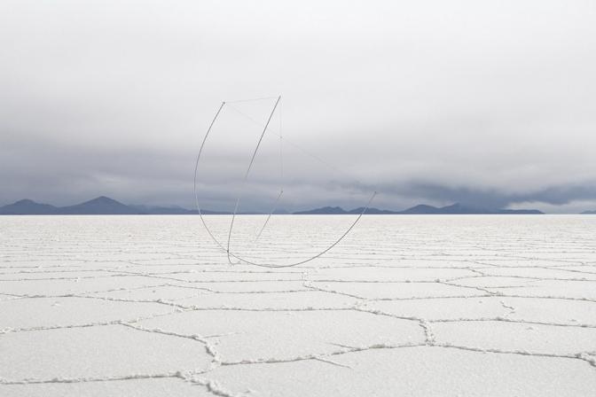 """Michał Smandek""""Skeletons"""", Salar de Uyuni, Bolivia, 2016,"""