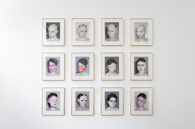アネタ・グシェコフスカ(Aneta Grzeszykowska)の「Beauty Mask(2017)」より